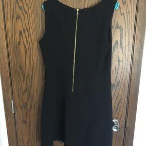 Just...Taylor Dresses - Little black dress! Very cool texture